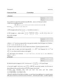 Sciences statistiques - Exercice 12
