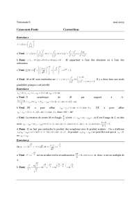 Sciences statistiques - Exercice 14