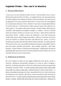 Riassunto Bioetica. Nozioni fondamentali - D'Agostino - Palazzani