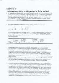 Appunti Esame Finanza aziendale - prof Bozzi, Belcredi Torriero - UNICATT