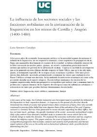 TRABAJO HISTORIA MODERNA DE ESPAÑA I (Curso 2013-14, asignatura impartida por José Ignacio Fortea, U