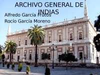 Trabajo seminario historia Museos: archivo general de indias