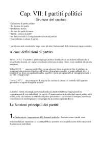 Riassunto Fondamenti di Scienza politica - Cotta, Della Porta, Morlino - parte 2