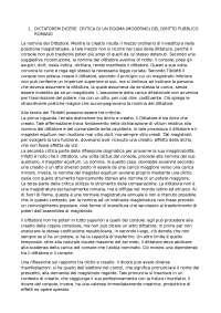 Riassunto Studi di diritto pubblico romano - Cascione