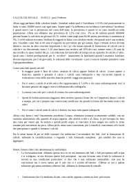 Appunti sulla calcolosi renale - prof. Federico - 03/05/13