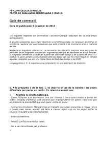 PAC3 - PSICOPALOGIA D'ADULTS
