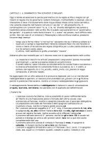 Riassunto Prima lezione di grammatica - Luca Serianni
