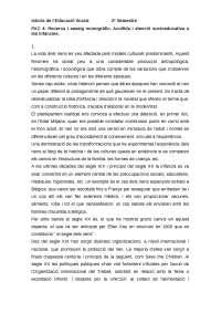 PAC 4: Recerca i assaig monogràfic. Acollida i atenció socioeducativa a les infàncies.