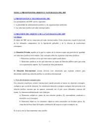 APUNTES DERECHO INTERNACIONAL PRIVADO. primer semestre curso 2014/2015