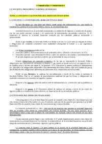 Apuntes de derecho financiero y tributario - UNED