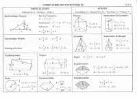 Formelsammlung mathe geometrie