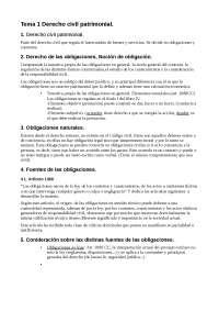 Derecho civil i obligaciones