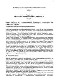 Dispensa processuale amministrativo 119 pg.
