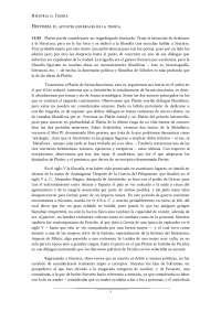Historia de la Filosofía Antigua II, 2º Filosofía