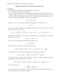 ecuaciones diferenciales resumen