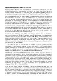 La Passione Civile di Francesco Ruffini