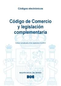 Edición septiembre 2014 - Código de comercio y legislación complementaria