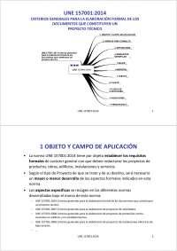 Proyecto norma UNE 157001