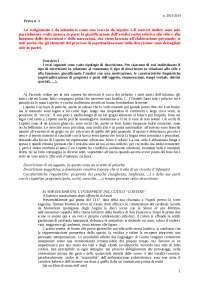 Prova 3 - Descrizione Narrazione - Svolgimento - Tecniche Espressive dell'Italiano - Gilardoni