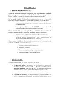 RESUMEN manual Garcimartín LEY APLICABLE: general + estatuto personal