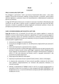 International trade law modulo 3 ud6 le eccezioni