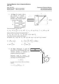 Examen Teoria de maquines 2012
