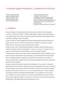 Premessa e presentazione tesina maturità classica su Le memorie di Adriano