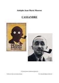 Trabajo Cassandre