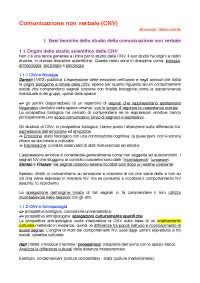 """Riassunto di """"Comunicazione non verbale"""" di Maricchiolo e Bonaiuto"""