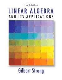 Linear algebra and its applications 4ed.mit gilbert strang