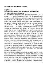 Introduzione alla storia di roma gabba1