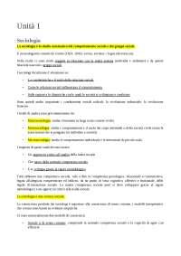 Appunti Corso Sociologia - Cugno unito