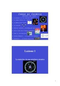 slides lezioni di chimica