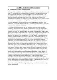 (UDIMA) Historia económica española y mundial-> TEMA 3.- La transición demográfica