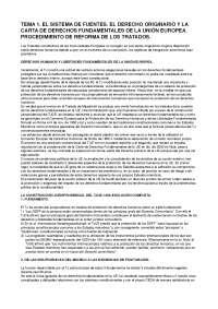 Derechos Humanos: el sistema de fuentes, Derecho UdG