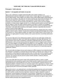 Riassunto I diritti nella rete della rete - Il caso del diritto d'autore - Pizzetti