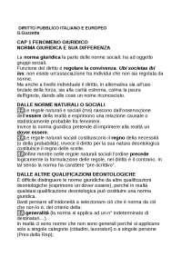 riassunto Guzzetta Marini Diritto pubblico italiano ed  europeo