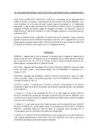 Modelo Querella, Derecho procesal penal UPO