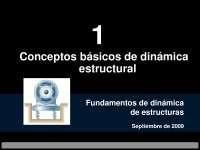 Ingeniería UAP: dinámica estructural, conceptos básicos