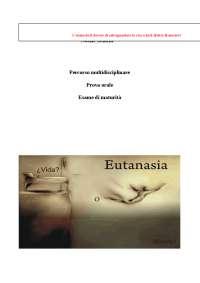 Tesina di maturità sull'eutanasia