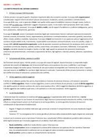 Riassunto per il corso Istituzione di diritto pubblico e privato IULM Milano