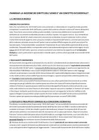 dispensa su Panikkar - esame sui diritti umani Sozio uniba