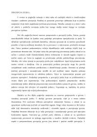 Psiholingvistika: percepcija jezika