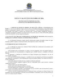 Edital n 08 2014