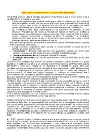 Riassunto Diritto delle società, manuale breve - capitolo 5,