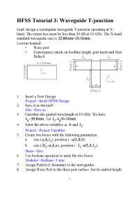 Hfss tutorial3