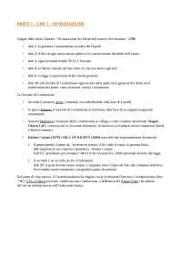Riassunto Diritto costituzionale Rolla - Parte i – cap. i – introduzione