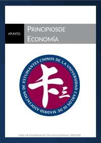 Principios de Economía Estudiantes chinos de la UC3M