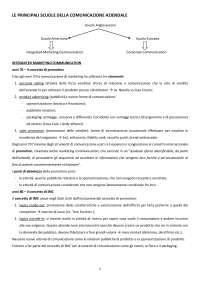 Domande e risposte Economia e Tecnica della Comunicazione Aziendale Gambetti unicatt
