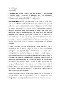 Cometari dels textos: La nacionalidad catalana - Els moviments d'emancipació Nacional